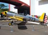 Ryan PT-22 Recruit (ST3KR) do Museu TAM (Ex-U.S. Army, prefixo 15-41373. Fabricado em 1944.). (23/10/2011)