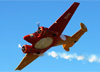 Beechcraft E18S, PT-DHI, do Circo Aéreo. (14/06/2014)