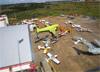 Aeronaves estacionadas. (14/06/2014)