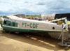 Helio H-391B Courier, PT-CDF, pertencente ao Museu TAM. (23/10/2011)