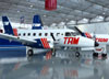 Embraer EMB-110C Bandeirante, PP-SBG, do Museu TAM. (31/01/2013)