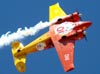 Beechcraft E18S, PT-DHI, do Circo Aéreo (Esquadrilha Oi).