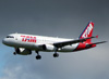 Airbus A320-232, PR-MBP, da TAM. (08/07/2012)