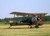 Sopwith Strutter 1 1/2 (réplica), C-FSOP, do The Great War Flying Museum. (07/06/2009) Foto: Ricardo Dagnone.