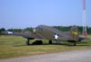 Cessna T-50 Bobcat, N1238N, da Commemorative Air Force. (07/06/2009) Foto: Ricardo Dagnone.