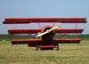 Fokker DR-1 Triplane (réplica), C-GFJK, do The Great War Flying Museum. (07/06/2009) Foto: Ricardo Dagnone.