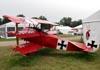 Réplica do Fokker DR-1 Triplane, N152RB. (31/07/2010) - Foto: Ricardo Dagnone.