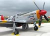 North American P-51C Mustang, NX61429, da Commemorative Air Force. (31/07/2010) - Foto: Ricardo Dagnone.