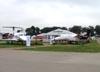 Embraer EMB 500 Phenom 100, PT-FQB, da Embraer. (31/07/2010) - Foto: Ricardo Dagnone.