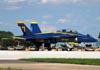McDonnell Douglas F/A-18B Hornet, 161723, dos Blue Angels. (26/07/2011) - Foto: Celia Passerani.