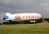Zeppelin LZ N07-100 Airship, N704LZ, da Airship Ventures. (27/07/2011) - Foto: Celia Passerani.