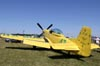 "North American P-51D Mustang, N51RH (chamado ""Ole Yeller""), de Bob Hoover. (29/07/2011) - Foto: Celia Passerani."
