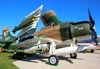 Douglas AD-1 Skyraider, N2AD, do Warbird Heritage Foundation. (21/07/2015) Foto: Ricardo Rizzo Correia