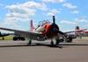 North American T-28C Trojan, NX462NA. (21/07/2015) Foto: Ricardo Rizzo Correia