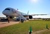 Airbus A350-941, F-WWCF, da Airbus. (21/07/2015) Foto: Ricardo Rizzo Correia