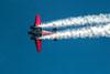 Beech C18S, N9109R, do Younkin Airshows, pilotado por Matt Younkin. (28/07/2017) Foto: Luiz Passerani