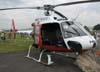 Eurocopter AS-350 BA Esquilo, PP-EID, Águia 1, da Polícia Militar do Estado de São Paulo. Foto: Ricardo Rizzo Correia