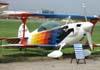 Christen Eagle II, PP-ZSP, da Acro (Associação Brasileira de Acrobacia Aérea), cedido ao Aeroclube de São Paulo. Foto: Ricardo Rizzo Correia