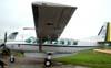 Cessna C-208A Caravan, designado pela FAB como C-98, FAB 2708, do Cindacta II Centro de Defesa Aérea e Controle de Tráfego Aéro), sediado em Curitiba.