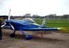 Vans RV-4 ER, PU-SHO, do Comandante Paulo Medina, com nova pintura na cauda.