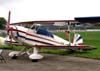 """Verdadeira relíquia! Bücker Jungmann BU-131D-2, PP-TFK, do Aeroclube de São Paulo. O """"Véio"""" Berteli voou muito esse avião!"""