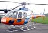 """Eurocopter AS-350B2 """"Esquilo"""", PT-HYP, da Aeromil Táxi Aéreo, a serviço da Amil."""