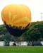 Balão de ar quente.