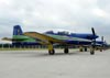 Embraer EMB-312 (T-27 Tucano), FAB 1314, da Esquadrilha da Fumaça. (24/10/2010)