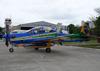 Embraer EMB-314 Super Tucano (A-29B), FAB 5965, da Esquadrilha da Fumaça (EDA - Esquadrão de Demonstração Aérea) da FAB (Força Aérea Brasileira). (29/09/2013)