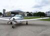 Piper/Neiva EMB-711ST Corisco II, PT-RZD, da EJ Escola de Aviação. (29/09/2013)