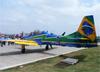 Embraer EMB-314 Super Tucano (A-29A), FAB 5703, do Esquadrilha da Fumaça (EDA - Esquadrão de Demonstração Aérea) da FAB (Força Aérea Brasileira). (28/09/2014)