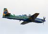 Embraer EMB-314 Super Tucano (A-29) da Esquadrilha da Fumaça (EDA - Esquadrão de Demonstração Aérea) da FAB (Força Aérea Brasileira). (20/10/2019)
