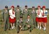Os Anjos da Guarda da Esquadrilha da Fumaça. Foto: GAFAB (02/09/2007)