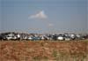Veículos estacionados ao lado do aeroporto Pedro Morganti.  Foto: AFAC (02/09/2007)