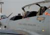 Detalhe do Embraer T-27 Tucano, FAB 1355. Foto: AFAC (02/09/2007)