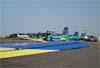 Aeronaves estacionadas no pátio. Foto: AFAC (02/09/2007)