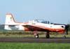 Embraer T-27 Tucano, FAB 1341, correndo para decolar. (02/09/2007)