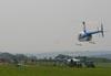 Robinson R44. (25/09/2010) Foto: Bruno Schmidt.