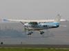 Cessna 172D Skyhawk, PT-CAH, do Aeroclube de Rio Claro. (25/09/2010) Foto: Bruno Schmidt.