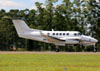 Beechcraft King Air B200GT, PP-RZN, da Raízen. (27/04/2014)