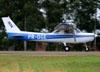 Cessna 152 II, PR-OGE, do Aeroclube de Jundiaí. (27/04/2014)