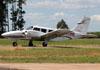 Piper PA-34-200 Seneca, PT-IHE, do Aeroclube de Piracicaba. (27/04/2014)