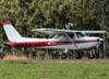 Cessna 152, PR-HAD, do Aeroclube de Rio Claro. (27/04/2014)