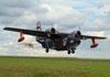 Grumman HU-16A Albatross, PP-ZAT, do comandante Carlos Edo, decolando durante a 2ª etapa do RallyAir, no aeródromo do Broa, em Itirapina (São Carlos).