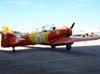 North American T-6D, PT-LDO, aeronave número 3 da Esquadrilha OI.