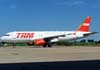 Airbus A-320-231 da TAM, PT-MZQ.