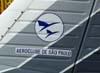 Cauda do Piper/Neiva EMB-712 Tupi, PT-NUU, do Aeroclube de São Paulo.