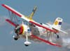 Decolagem do Grumman Showcat, PP-XDI, do Brazilian Wingwalking Airshow.