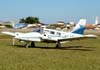 Piper PA-34-200 Seneca, PT-IHE, do Aeroclube de Sorocaba.