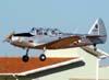 Fairchild PT-19A, PR-CVA, fazendo uma passagem baixa durante a 67ª Festa Aviatória de Rio Claro/SP. (14/06/2009)